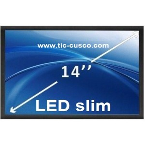 "Pantalla de 14"" LED Slim"